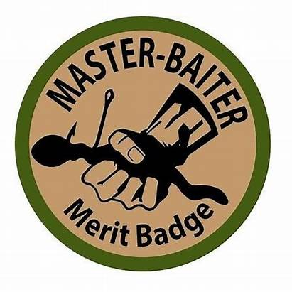Baiter Master Funny Stickers Fishing Sports Outdoor