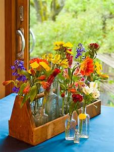 Ramos de flores y arreglos florales para decorar el hogar