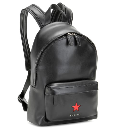 givenchy mini leather backpack  black lyst
