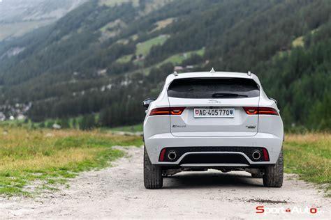 essai jaguar  pace p  dynamic hse sport autoch