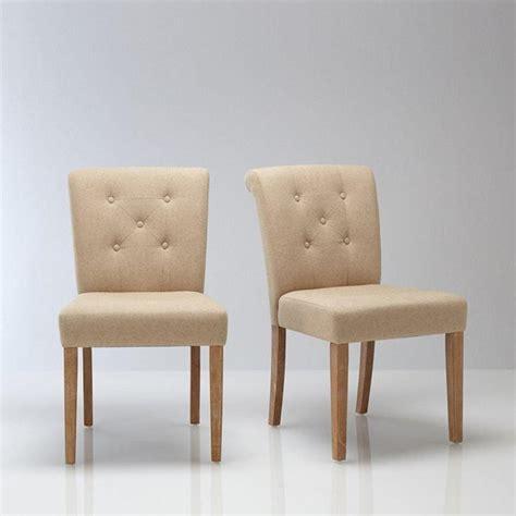 la redoute chaises salle a manger chaise salle a manger en tissu le monde de l 233 a