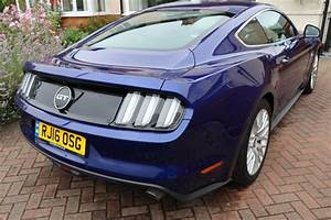 2016 S550 Ford Mustang 5.0 V8 Blue For Sale | Car And Classic