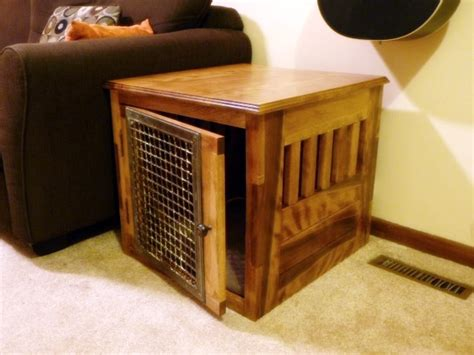 Dog Kennel Coffee Table Plans
