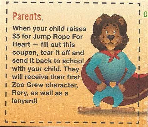 American Heart Association Jump Rope For Heart Donation Form by Jump Rope For Heart May Howard Elementary P E