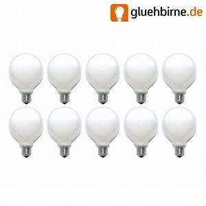 Glühbirne 60 Watt : 10 x globe gl hbirne 60w e27 opal g95 95mm globelampe 60 watt gl hlam ~ Eleganceandgraceweddings.com Haus und Dekorationen