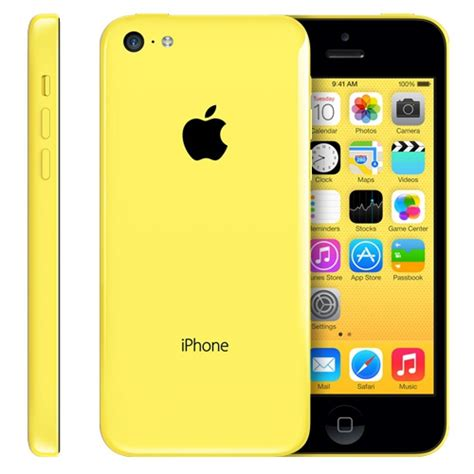 iphone 5c phone apple iphone 5c 8gb 4g lte yellow smart phone att