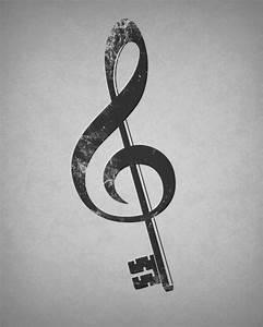 Symbole Für Glück : musik ist der schl ssel f r das gl ck im leben musik pinterest tattoo ideen tattoo ~ Udekor.club Haus und Dekorationen