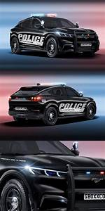 Ford Mustang Mach-E Begs To Become A Police Car. Good luck trying to outrun it. | Ford mustang ...