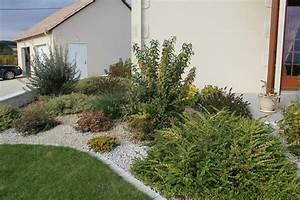 beautiful deco jardin devant maison ideas design trends With idee amenagement jardin devant maison