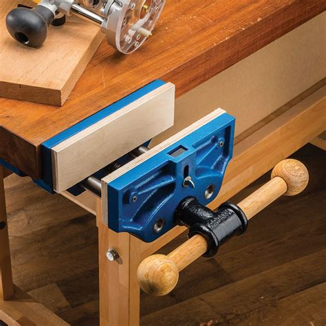 quick release workbench vise rockler woodworking