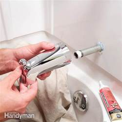 leaky delta kitchen faucet how to replace a bathtub spout the family handyman