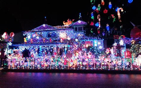 best lighting for photos the best christmas light displays in every state travel
