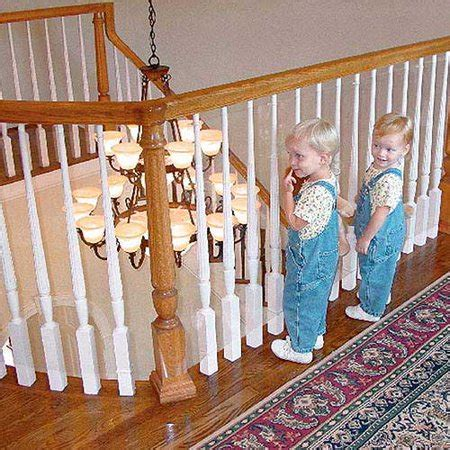 Child Proof Banister by Kidkusion Kidsafe Banister Guard Walmart
