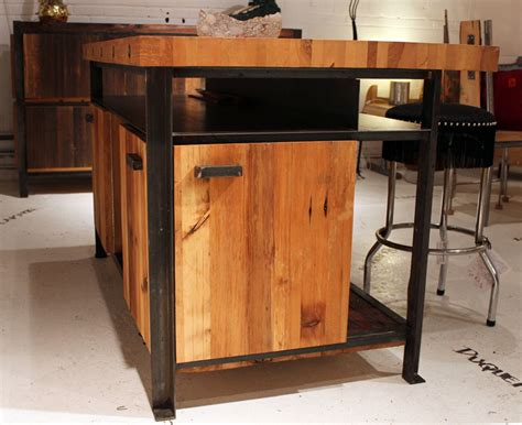 meuble cuisine acier atelier epure ca projet témiscouata