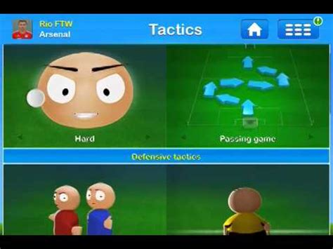 Soccer Manager Best Tactics by Soccer Manager Best Tactics For Arsenal Goal4