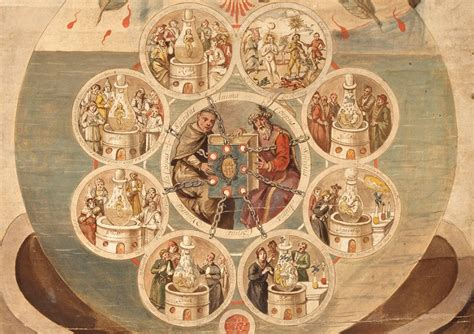 Alchemists Revealing Secrets From The Book Of Seven