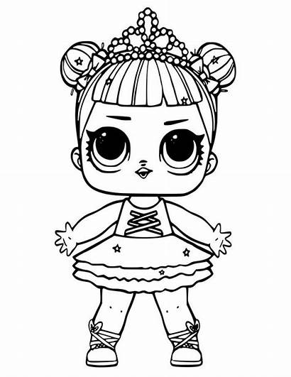 Lol Coloring Doll Stage Printable Dolls