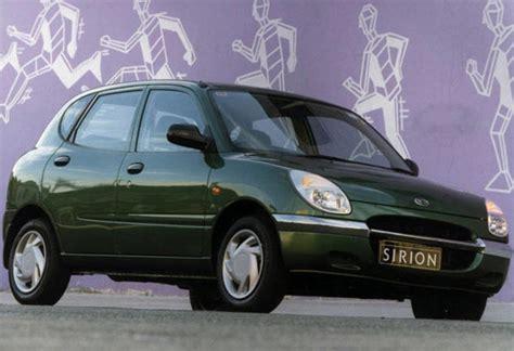 Review Daihatsu Sirion by Used Daihatsu Sirion Review 1998 2002 Carsguide