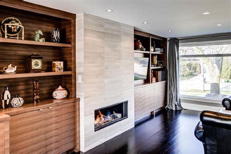 white precast concrete fireplace 130 de idei pentru living cu televizor și șemineu pe