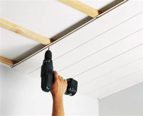 plafond pvc cuisine pose lambris pvc plafond salle de bain travaux et
