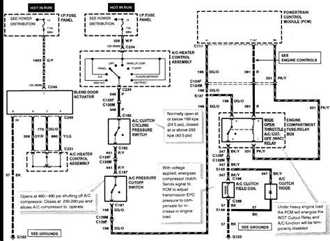 Alternator Wiring Diagram For Ford