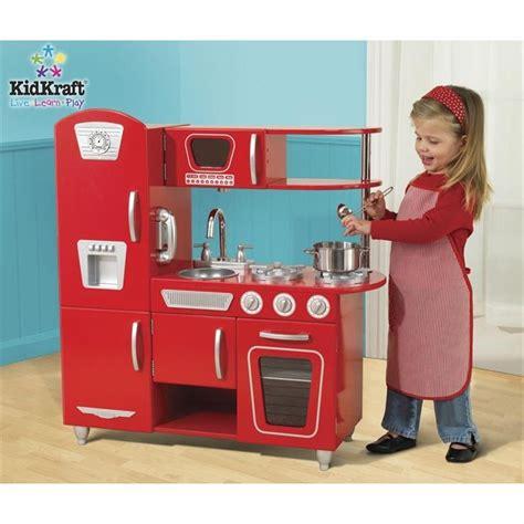 cuisine kidcraft kidkraft cuisine enfant vintage en bois achat