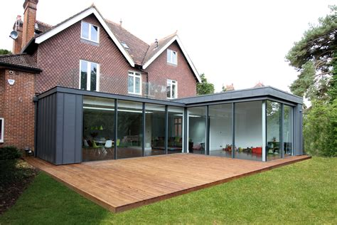 roof extension ideas flat roof single storey extension google search l shaped idea garden ideas pinterest