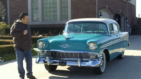 1956 Chevy Bel Air 4 Door Classic Muscle Car For Sale In