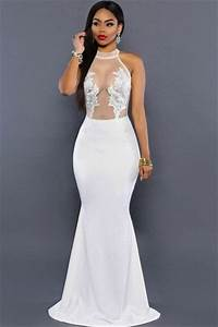 robe de soiree longue blanche pas cher With robe de soirée blanche pas cher