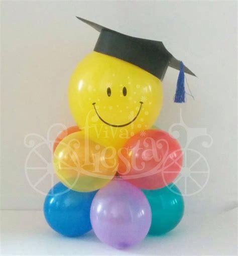 arreglos de mesa para graduacion preescolar para graduaci 243 n centro de mesa viva globos