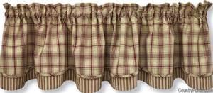 kitchen designs stanton lined layered curtain valance