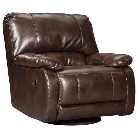 swivel glider recliner signature design by hallettsville 3530061 casual