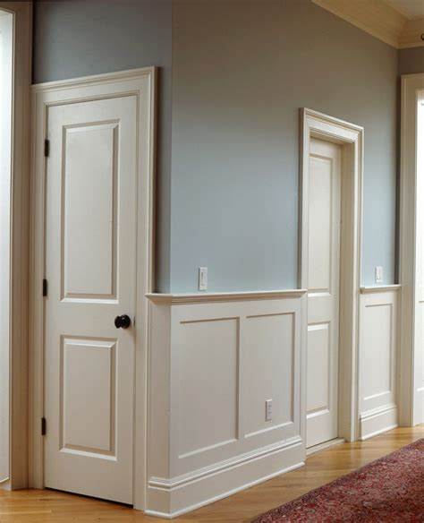 How To Install Raised Panel Wainscoting by Raised And Recessed Panel Wainscoting Wainscot Solutions