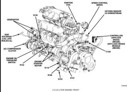 dodge caravan check engine light    po code