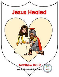 4 9b jesus heals a centurion s servant jesus crafts 535 | 0fd6d344dae2b9c1640b4c309431cd4d