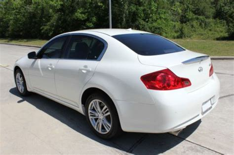 Find Used 2013 Infiniti G37x Awd 4dr Sedan Automatic