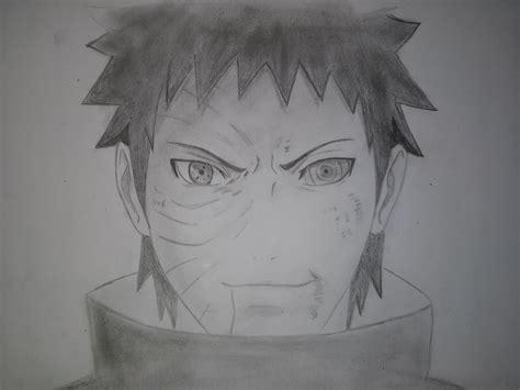 drawn naruto obito pencil   color drawn naruto obito