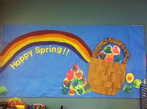 bulletin board easter easter eggs rainbow 475 | 1b940f2190abd9da2f9c77f5a6193c32