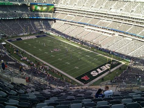 MetLife Stadium, section 332, row 21, seat 13 - New York ...