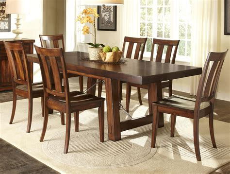 Popular Dining Room Sets by 20 Best Jaxon 7 Rectangle Dining Sets With
