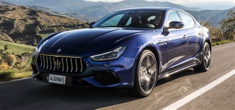 Premier essai de la Maserati Ghibli Hybrid (2021) - L ...