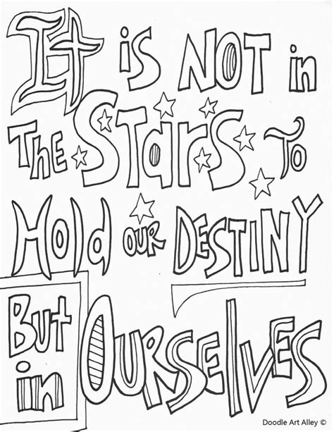 coloring pages with quotes motivational quote coloring pages doodle alley