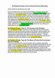 Essay Environmental Issues Chemistry Written Thesis Phd  Environmental Problems Essay Topics Reflective Essay Definition