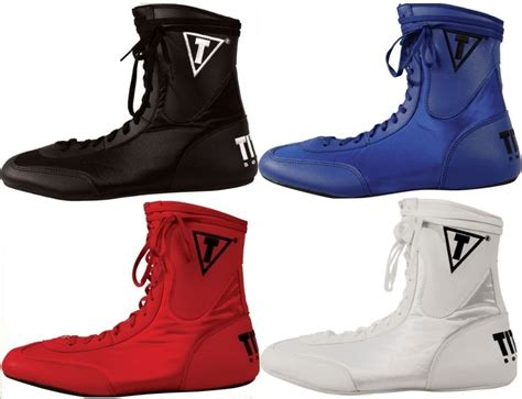 Title Low Top Boxing Shoes Boots