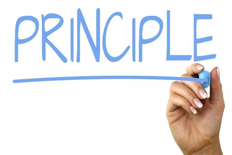 Principle - Handwriting image