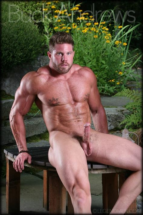 Legend Men Sexy Naked Big Muscle Hunk Buck Andrews