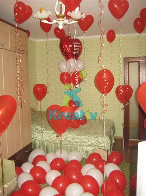 Bedroom Decorating Ideas For Valentines Day by 30 Balloons Valentines Day Ideas Unique Home Decorating