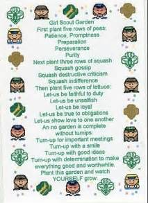 Girl Scout Poems for Ceremonies