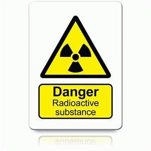 Buy Danger Radioactive Substance Labels | Danger & Warning ...
