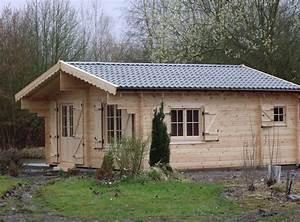 Chalet En Bois Habitable D Occasion : plan chalet bois avec mezzanine r alisation maison bois ~ Melissatoandfro.com Idées de Décoration